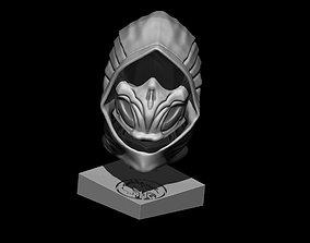 3D printable model Scorpion Bust Mortal Kombat 11