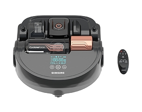 3D Samsung Powerbot Turbo Robot Vacuum with Remote