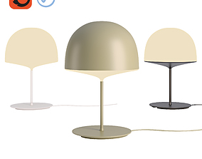 Fontana Arte Cheshire Table Lamp by Gam Fratesi 3D