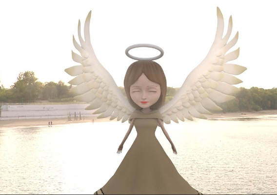 Angel Character for Mobile Game