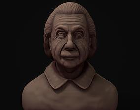 3D Einstein Bust