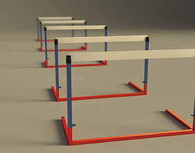 3D model RACE---Hurdle
