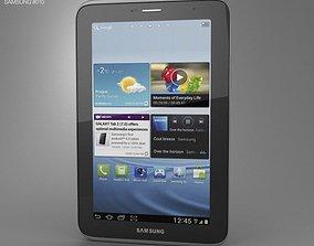 3D asset Samsung Galaxy Tab 2