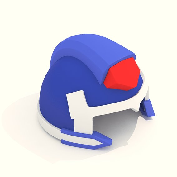 Cartoon Robot Helmet Model CRH5