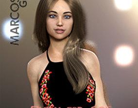 Emily for Genesis 8 Female 3D