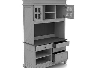 office cabinet 3D model realtime