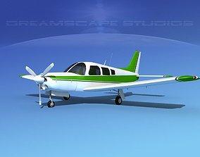 Piper Turbo Arrow 240 V08 3D model