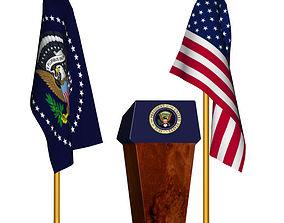 3D model Presidential Set
