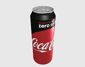 3D model Can Coca Cola Zero 50cl
