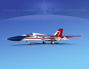 3D General Dynamics F-111 Aardvark V01