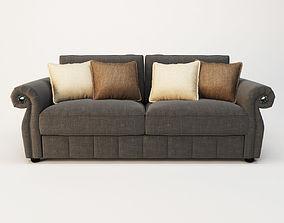 3D model polyester Sofa fashion Flora