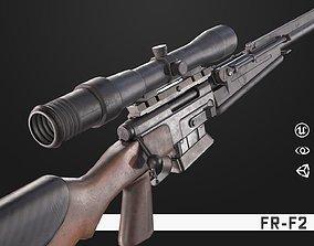3D model FR-F2 Sniper Rifle