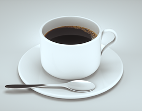 3D model household Coffee cup