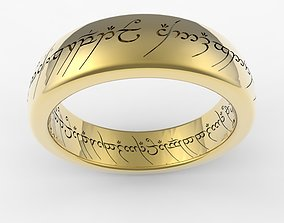 Ring of omnipotence 3D print model