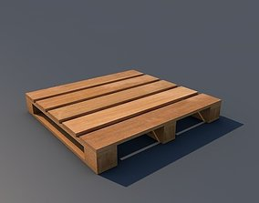 3D asset Wood Pallet