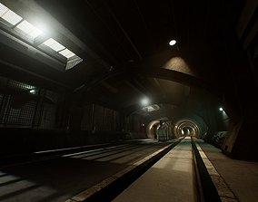 3D model Old Metro Maintenance Station Pack