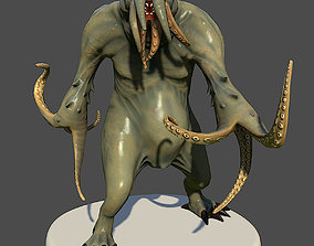 3D model Tentacle Monster