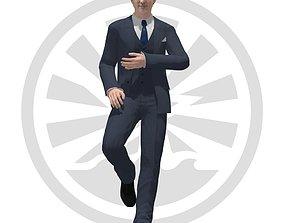 3D asset rigged VR / AR ready Justin Trudeau
