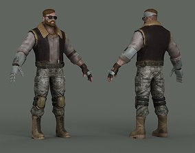 Soldiers science fiction special forces agents 3D model