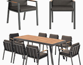 Dining group NOFI 3D model