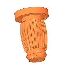 the real furniture leg for3d printing and cnc production