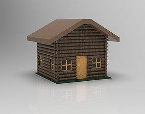 3D print model Log Cabin privatelogcabin
