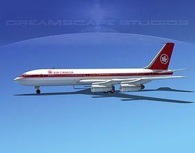 Boeing 707 Air Canada 3D model