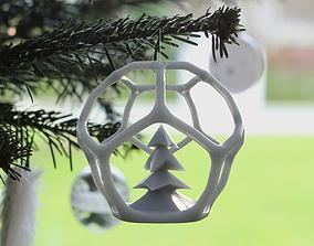 3D printable Christmasball