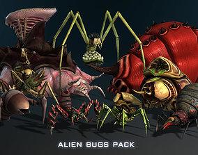 3D model Alien Bugs Pack