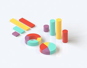isometric data analysis 3d isometric game-ready