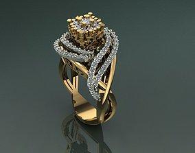 3D printable model unique jewelry