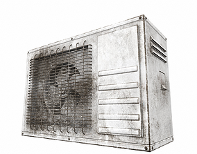 3D model Air conditioner outdoor 6b