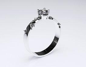 Wedding ring 3D weding