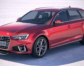 Audi A4 S-Line Avant 2019 3D model