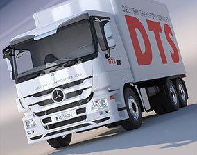 New Mercedes Actros Box Truck 3D model