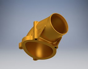 3D print model C20xe Powercap 71 mm no fitting RIGHT PIPE