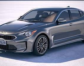 3D model Kia Stinger 2019