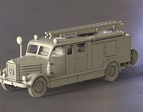 fire engine 3D print model