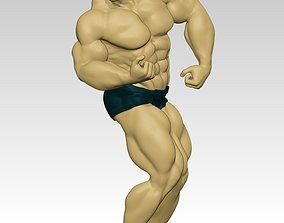 Body Builder Statue N 6 3D print 3D model
