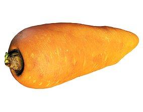 4k carrot 3D model