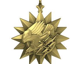 USAF Air Medal Award 3D model