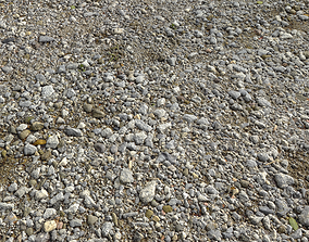 Rocks and Pebbles ground pack 1 3D model