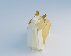 Pembroke Welsh Corgi 3D model