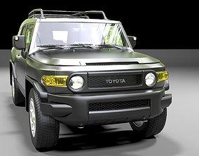 Toyota FJ Cruiser 2011 3D model pick
