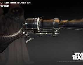 3D printable model Ion blaster- Jawa ionization blaster