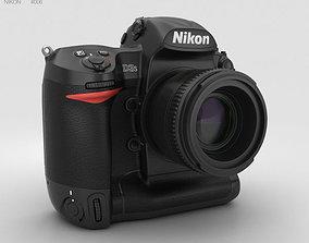 Nikon D3S 3D model