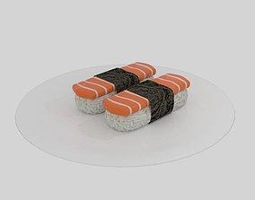 3D asset Salmon Sushi