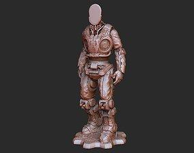 Command Bot DeeBee Gears of War 3D Model STL File 3D