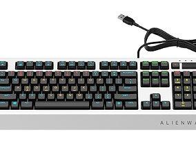 3D model Alienware Pro Gaming Keyboard
