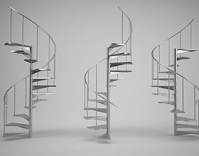 Spiral Staircase 3D staircase